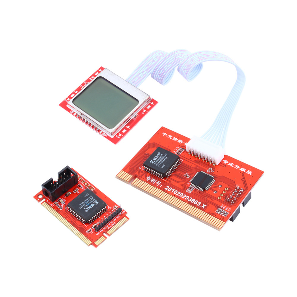 Tablet PCI Motherboard Analyzer Diagnostic Tester Post Test Card for PC Laptop Desktop PTI8(China (Mainland))