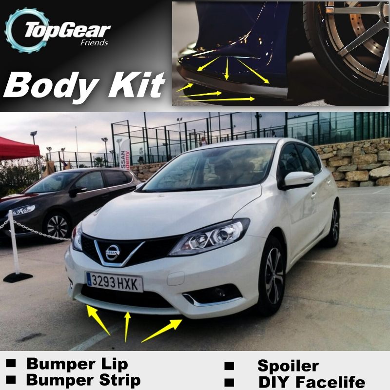 Galerry 2016 nissan sentra front bumper lip guard protector Page 2