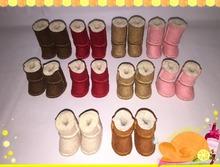 Blyth muñeca calza las botas de Nieve 3.5 cm adecuado para blyth muñeca accesorios JJ123(China (Mainland))