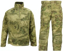 Buy ATACS FG Ghillie Combat Hunting Tactical Training Uniform All-Weather Top + Pants Military Camouflage Protective Uniform for $75.28 in AliExpress store