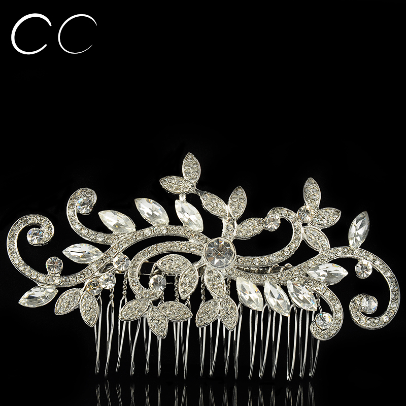 2016 New Design Bridal Jewelry Fashion Combs Tiara Wedding Hair Accessories Bijoux Femme Gift Luxury Elegant Hairwear A031(China (Mainland))