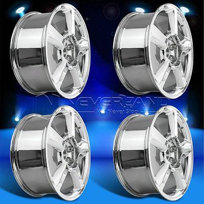 "4PC/Set for Chevrolet Avalanche Tahoe Suburban+31 offset 20""x8.5""Alloy Car Wheels Rim Chrome USA Stock Free Shipping(China (Mainland))"