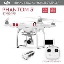 DJI Phantom 3 Standard FPV Drone with 2.7K 12 Megapixel HD Camera