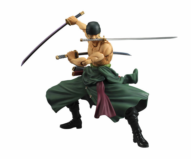 One Piece Anime Swordsman Roronoa Zoro PVC Action Figure New World Three Knife Stream Movable Joint Collection Model Toys