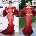 Katy Perry Evening Dresses Long 2016 High Quality Long Sleeves Muslim Evening Dress Celebrity Dresses