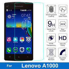 Buy Original Tempered Glass Screen Protector Lenovo A1000 1000 A2800 A2800-D 2800 Explosion-proof Anti-shatter Glass Film for $1.09 in AliExpress store
