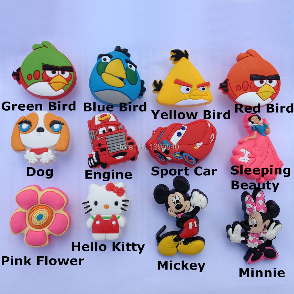 New 2pcs Bird Cartoon Cabinet Knob Kids Drawer Handles Lovely Closet Pulls Kindergarten Shake Handles & Knobs Shoes Box Bas Pull(China (Mainland))