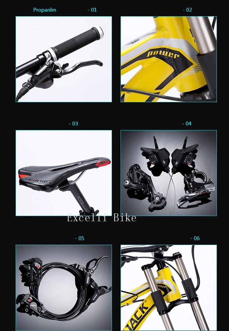 Downhill 27 speeds oil brake Mountain Bikes Bicicleta Mountain Bike 2617
