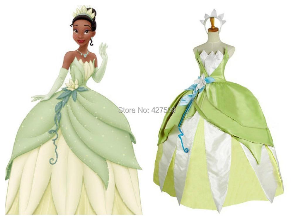 Robe princesse grenouille disney - Robe princesse disney adulte ...