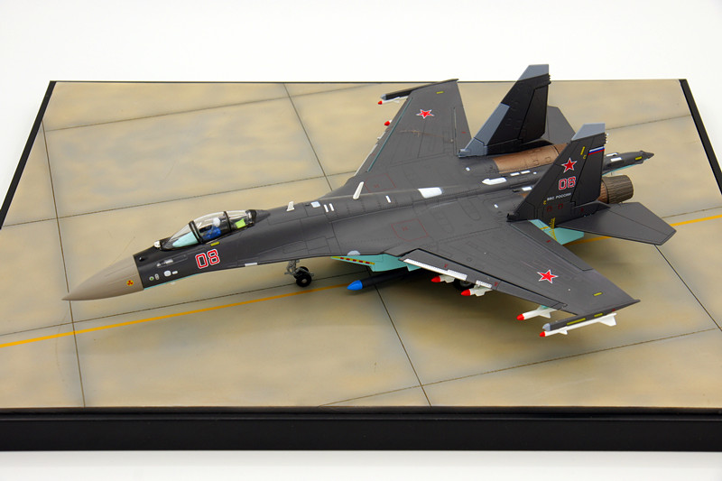 1/72 Scale Military Model Sukhoi Su-35 Flanker-E/Super Flanker Fighter Diecast Metal Plane Model Toy New In Box For Collection(China (Mainland))