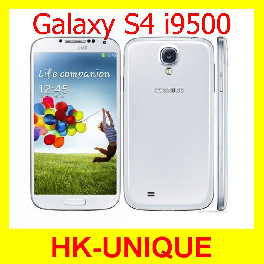 Мобильный телефон Samsung S4 i9500 3G & 4G 13 GPS WIFI Quad Core13MP 16G