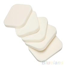 5x Beauty Lady Women Makeup Foundation Cosmetic Facial Face Soft Sponge Powder Puff Tool Kit 1DFF