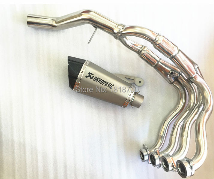 10--14 years Scorpio modified Case for  BMW S1000R S1000RR BMW S1000 exhaust pipe exhaust pipe character