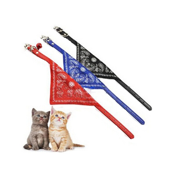 Гаджет  2014 Lovely Small Adjustable Pet Cat Scarf Collar/ Triangle-Shaped  Bandana None Дом и Сад