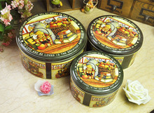 FREE SHIPPING MetalTin box TB28 for 1pc zakka and vintage basic necessities storage container for house decoration(China (Mainland))