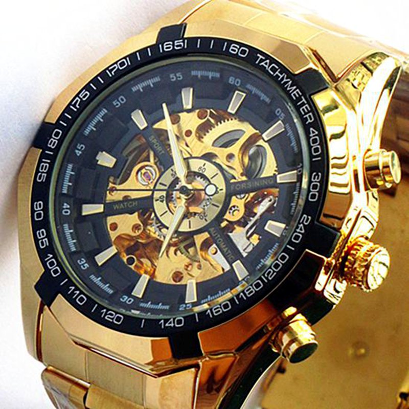 GAGA! Brand New Clock Mens Automatic Mechanical Men Wrist Watch Military Style Watch Men Wristwatches(China (Mainland))