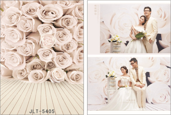 200cm*300cm Vinyl Backdrops Photography Wedding Photo Background Studio Prop JL-5405