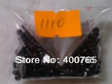 (NA8C185503100)(200PCS/Lot by AM) for Nokia 3100 3110C 1600 1100 E71 1110 2680 1616 6100 6630 1200 1208 T6 Screws Black 1.85X5MM(China (Mainland))