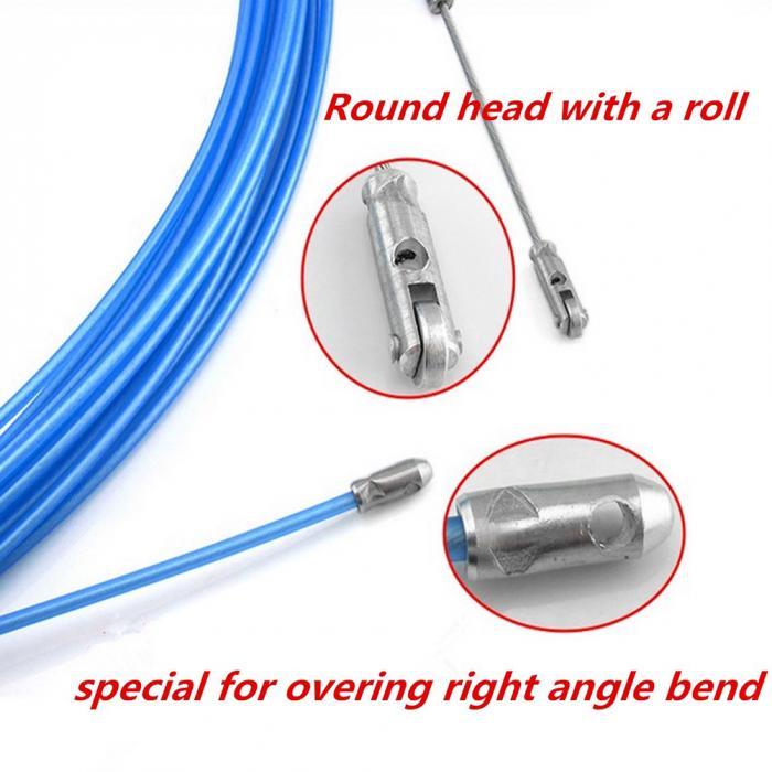 Électricien ruban adhésif conduit de guidage Câble Extracteur Outils pour le câblage d/'installation