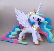 HOT SALE 2015  Stuffed  Plush Princess Celestia Plush Princess Cadance Doll  Luna  Little Horse Decoration  And Gift for girls(China (Mainland))