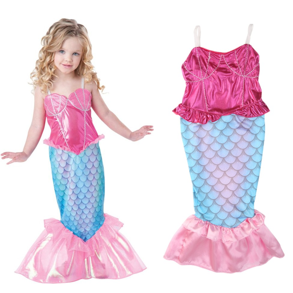 Detail Feedback Questions About Baby Girls Clothes The Mermaid Ariel