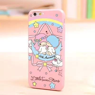 Cute sanrio cartoon tuxedosam /my melody /hello kitty / little twin stars soft phone cover case for Apple iphone 6plus / 6(China (Mainland))