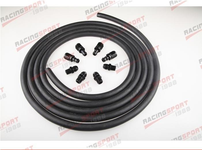 Push lock Racing Performance Automatic Transmission Cooler Line Kit POH-66442(China (Mainland))