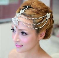 2016 New Fashion Water drop Pendant Rhinestone Bridal Tiaras Crystal Crown for Women Wedding Diadem hair jewelry accessories