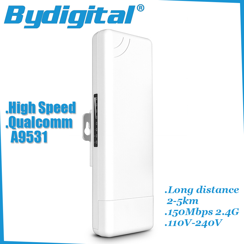 High speed wifi bridge CPE 150Mbps 2.4G wi-fi ethernet 15Dbi wireless Long range Outdoor AP access point 2-5km(China (Mainland))