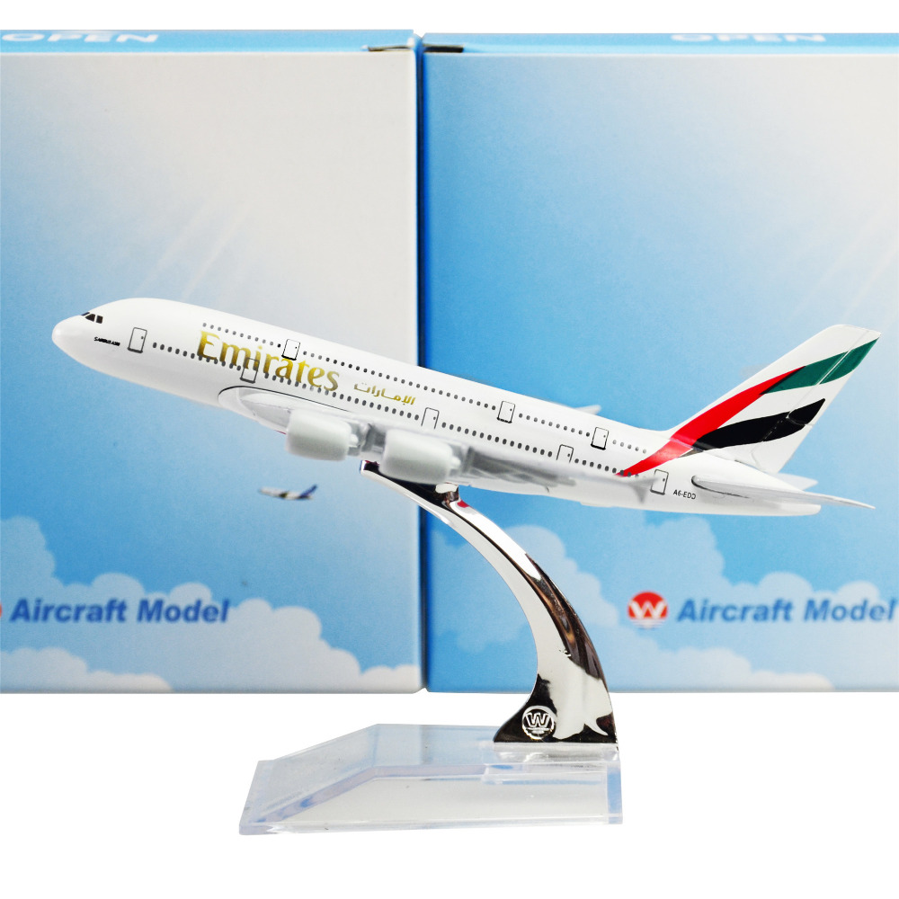 The United Arab Emirates Airline A380, 16cm, Metal Airplane Models Child Birthday Gift Models Free Shipping(China (Mainland))