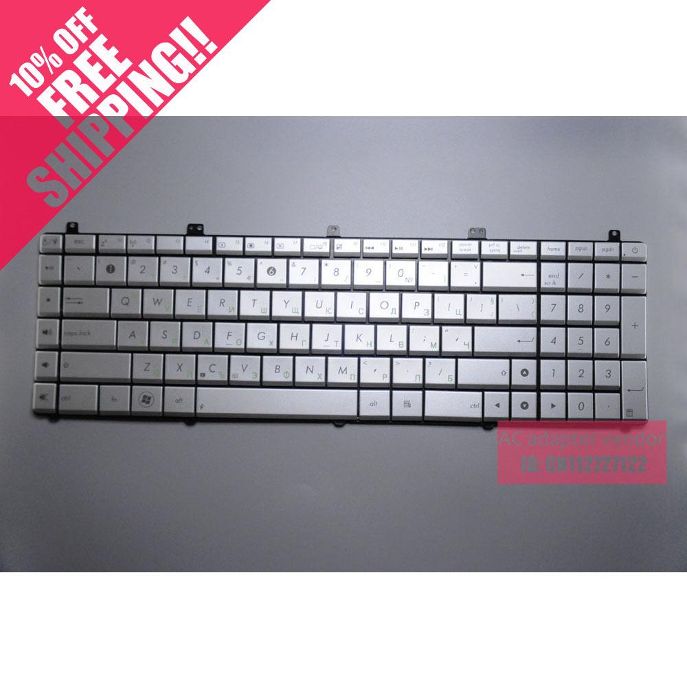 New Replace FOR ASUS FOR ASUS FOR ASUS N55S N75S N55SF N55SL N75SL silver keyboard<br><br>Aliexpress