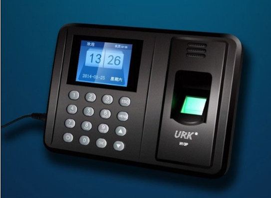 10 PCS AU PLUG Fingerprint attendance machine biometric fingerprint punch usb time clock English office attendance recorder(China (Mainland))