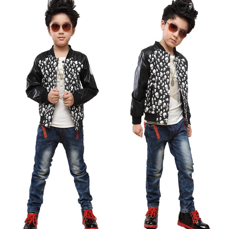 2014 Autumn Fashion Smart Long Sleeve Relaxation Comfort All Match Sport New Style Boy Jacket