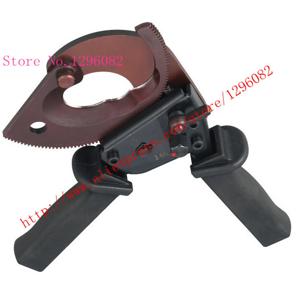 J38 Ratchet cable cutter Cutting range: 300mm2 max forging blade with safety lock(China (Mainland))
