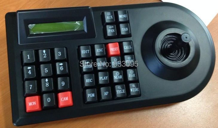 CCTV PTZ 2D Joystick Analog CCTV PTZ Keyboard controller 2D RS485 use joystick for CCTV PTZ speed Dome Camera(China (Mainland))