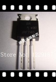 Free shiping 10PCS IRF740PBF IRF740 N-Channel Power Mosfet 400V 10A TO-220(China (Mainland))