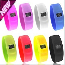 Party Supplies holesale - 100pcs/lot Silicon Sport Dive Watch Ion Candy Jelly Watch,Digital Watches,Anion Wrist Wa(China (Mainland))