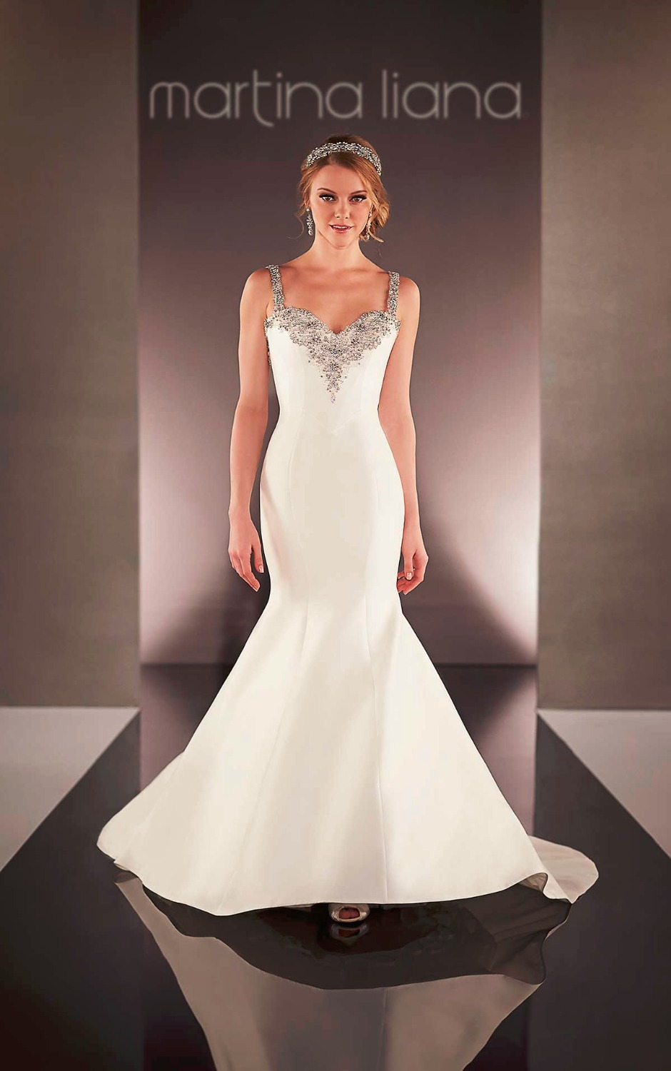 mermaid wedding dresses with sweetheart neckline wedding dresses mermaid mermaid sweetheart tulle wedding dress with crystals