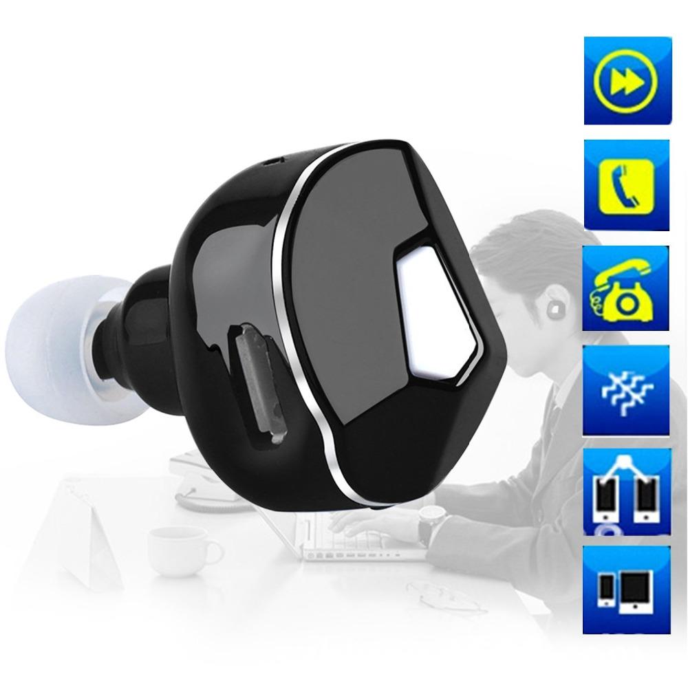 Mini Style Wireless Bluetooth Earphones In-Ear Stealth Earphone Phone Headset Handfree Universal for iPhone samsung(China (Mainland))