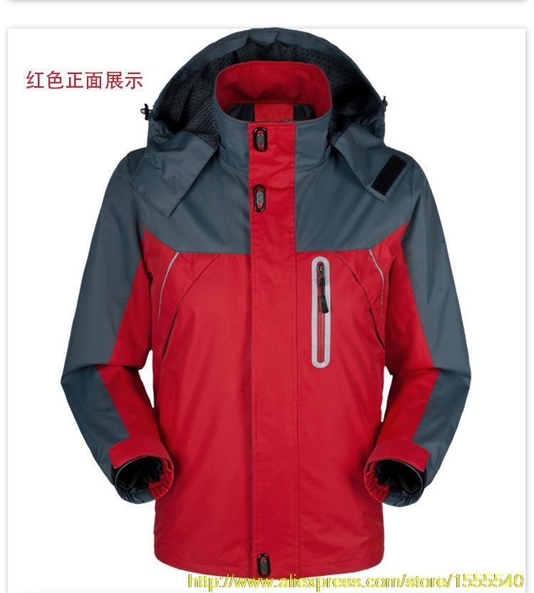 Windproof Men s Outdoor Jacket Breathable Waterproof Jacket Autumn And Winter In Spring Sports Mountaineering 4XL