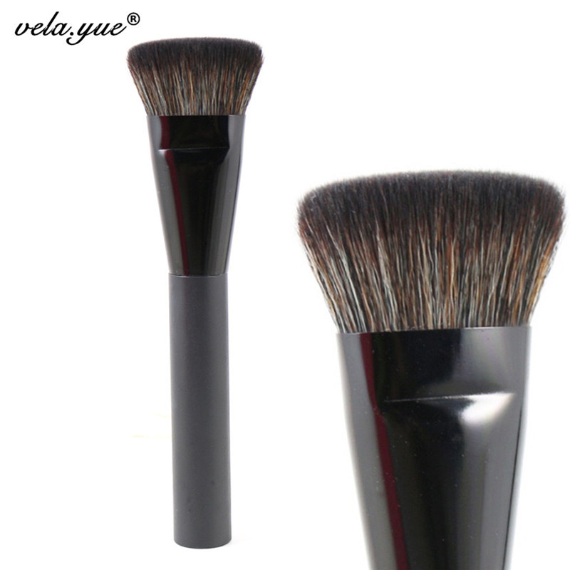Professional Flat Contour Brush Premium Face Blending Highlighting Makeup Brush(Hong Kong)