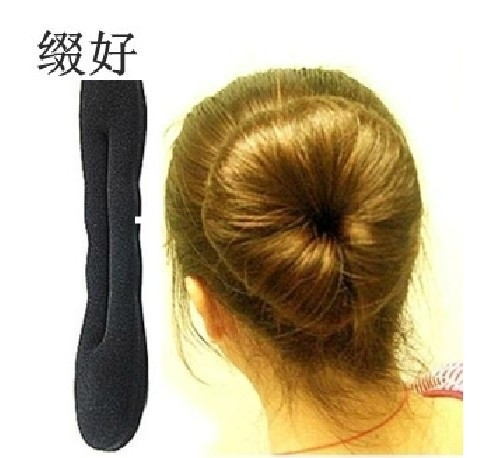 Magic Hair Styling Ring Hairpins Hairdisk Meatball Head Rubber Clip Accessories Women - Hong Kong Westline International Trade Co., Ltd. store
