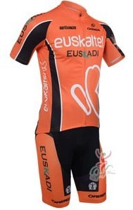 2013 NEW!!! Euskaltel Euskadi short sleeve cycling jersey wear clothes bicycle/bike/riding jersey+pants shorts