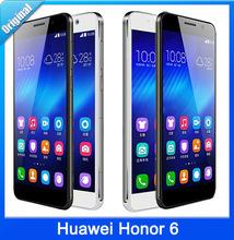 Huawei Honor 6 in stock Dual SIM 4G FDD LTE Phone Octa Core CPU 3GB RAM 16/32GB ROM Android 4.4 OS 5.0'' inch IPS 1920*1080 Pix(China (Mainland))