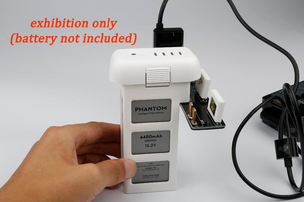 DJI phantom 3 accessories Battery Parrallel Charger Board 3 sockets For DJI Batteries DJI3 Accessories