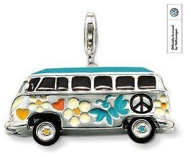 Wholesale Hot fashion silver plated multi-colored car pendant Super price !Free Shipping LP155
