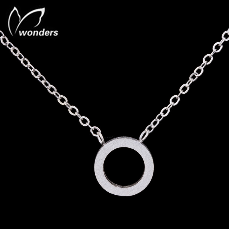 30Pcs/lot Fashion Jewelry Geometric Gold Silver Plated Circle Pendant Necklace Hot Sale Choker Statement Necklaces For Women <br><br>Aliexpress