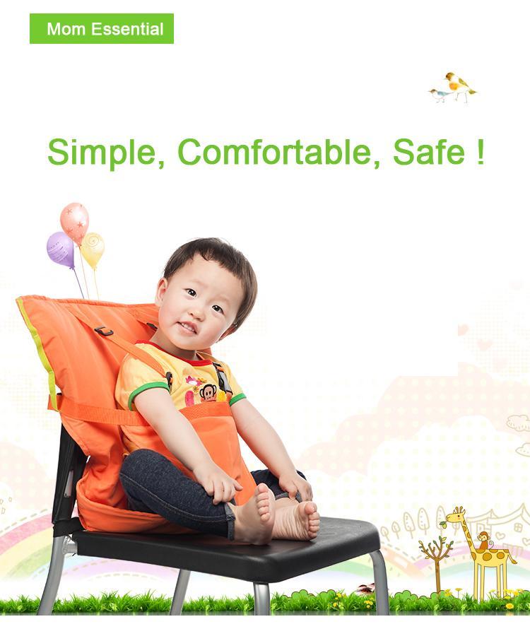Портативный Детское Сиденье Дети Стульчик Для Кормления для Ребенок Ребенок Младенческой Ремень Безопасности детское Сиденье Высокий Стульчик для кормления 6 цветов