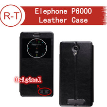 Elephone P6000 Case 100% Original Colorful Flip Leather Case Cover with view window for Elephone P6000 Elephone P6000 Pro