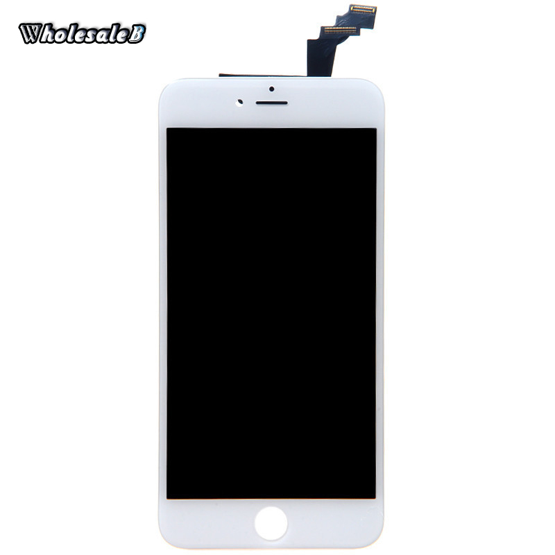 Retail White LCD Display Digitizer for iPhone 6 Plus 5.5 inch Touch Screen Digitizer For iPhone 6 Plus 5.5 inch Free Ship IPH860(China (Mainland))
